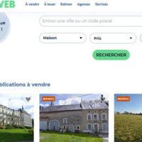 Immoweb, un des sites internet les plus vus en Belgique, fait peau neuve